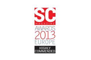 Prix SC Magazine Royaume-Uni 2013