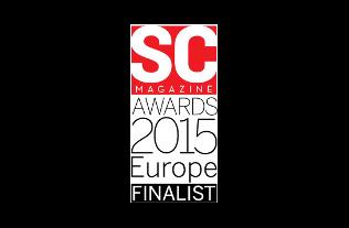 Prix 2015 de à la SC Magazine UK