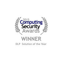 Endpoint Protector 4 is Winner in the DLP Solution of the Year category at the Computing Security Awards 2015