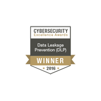Endpoint Protector 4 is Winner in the Data Leakage Prevention category at the 2016 Cybersecurity Excellence Awards