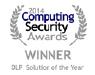 Endpoint Protector 4 gagne le prix Computing Security 'Solution DLP de l'Année 2014'