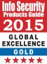 Endpoint Protector 4, Lauréat Or au Prix Mondial d'excellence de l'Info Security 2015 dans la catégorie la sécurité de base de données, protection des fuites de données/ prévention par Extrusion