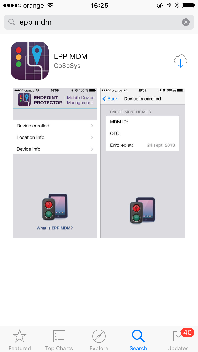 Mobile Device Management - Mobile Device Management (iPhone)