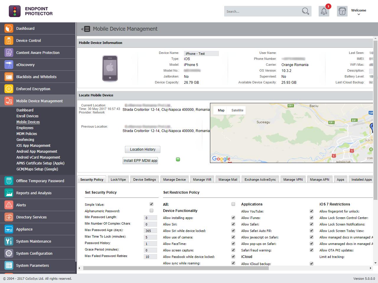 Mobile Device Management - Mobile Device Management