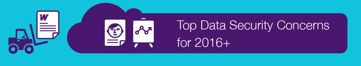 Haut préoccupations de sécurité des données pour 2016